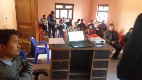 राष्ट्रिय हातीपार्इले राेग निवारण अभियान सम्पन्न् कार्यकम